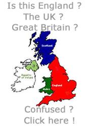 England tour map