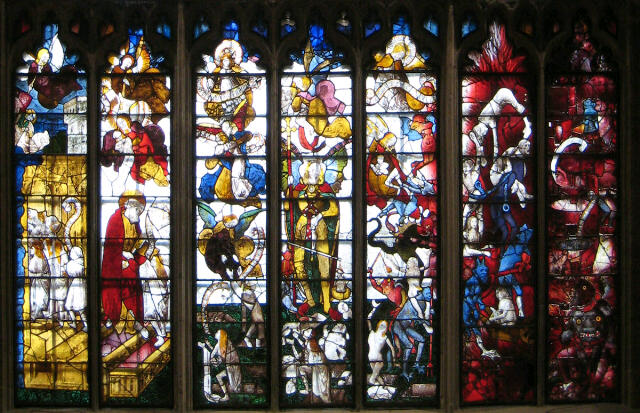 The Spectacular Medieval Stained Glass Windows At Fairford Church