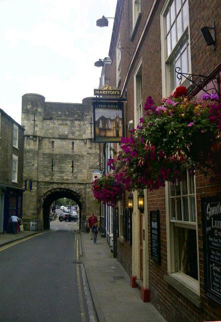 High Petergate, York, England