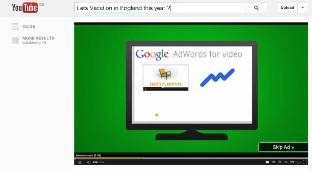 Is anyone else out there fed up with those ads on youTube?? - Rob