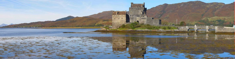 SCOTLAND-Eilean-Dornan-Castle