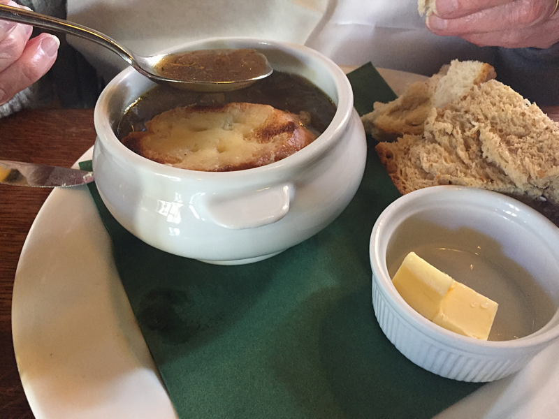 French Onion soup for mother !