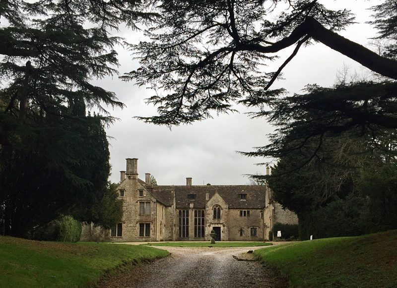 The wonderful Chavenage House - used in many movies and TV series including Poldark and  Lark Rise to Candleford.